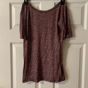 Worn once Gap Top, high front low back
